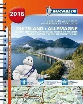 NIEMCY atlas samochodowy 1:300 000 MICHELIN 2016