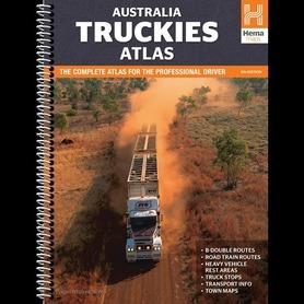 AUSTRALIA TRUCKIES atlas samochodowy HEMA 2015