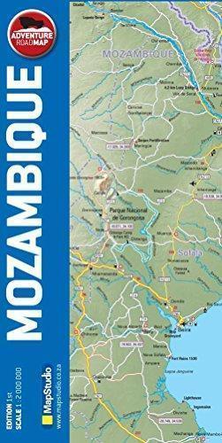 MOZAMBIK MAPA SAMOCHODOWA 1:2 000 000 MAPSTUDIO