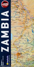 ZAMBIA MAPA SAMOCHODOWA 1:1 650 000 MAPSTUDIO