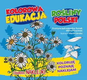 KOLOROWANKA ROŚLINY POLSKI + NAKLEJKI RM 2016