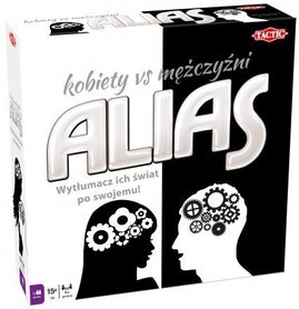 ALIAS KOBIETY VS MĘŻCZYŹNI GRA PLANSZOWA TACTIC