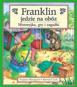 FRANKLIN JEDZIE NA OBÓZ Historyjka, gry i zagadki wyd. DEBIT