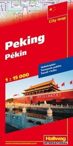 PEKIN Beijing plan miasta 1:15 000 HALLWAG