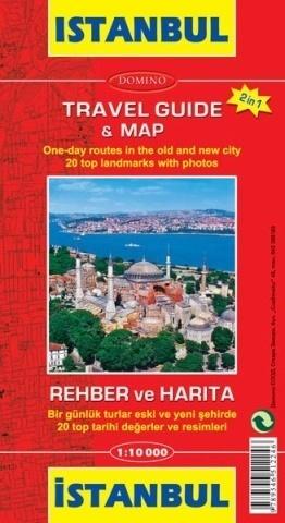 ISTAMBUŁ plan miasta i mapa turystyczna 1:10 000 DOMINO