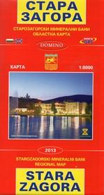 STARA ZAGORA (Bułgaria) plan miasta 1:8 000 DOMINO