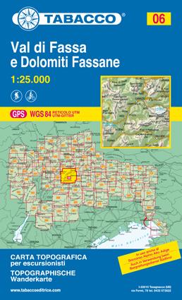 060 COLLI EUGANEI - ABANO E MONTEGROTTO TERME mapa turystyczna 1:25 000 TABACCO