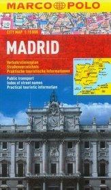 MADRYT plan miasta laminowany 1:15 000 MARCO POLO