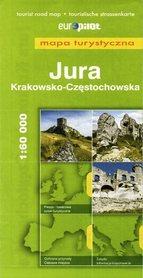 JURA KRAKOWSKO CZĘSTOCHOWSKA mapa turystyczna 1: 60 000 EUROPILOT