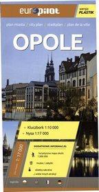 OPOLE plan miasta plastik 1:17 000 EUROpilot