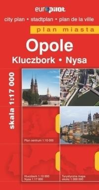 OPOLE KLUCZBORK NYSA plan miasta 1:20 000 DAUNPOL