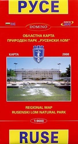 BUŁGARIA RUSE plan miasta 1:9 000 DOMINO