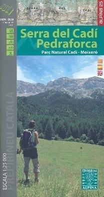 SERRA DEL CADI PEDRAFORCA mapa turystyczna 1:25 000 ALPINA EDITORIAL