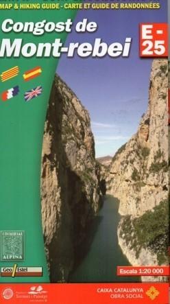 CONGOST DE MONT REBEI mapa turystyczna 1:25 000 ALPINA EDITORIAL