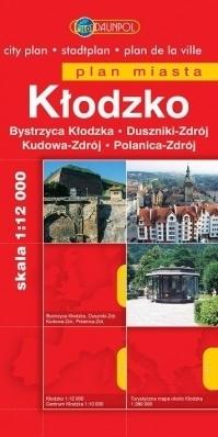 KŁODZKO KUDOWA-ZDRÓJ plan miasta 1:12 000 DAUNPOL