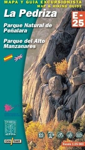LA PEDRIZA - PENALARA NP - ALTO MANZANARES NP mapa turystyczna 1:25 000 ALPINA EDITORIAL