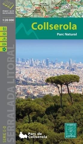 COLLSEROLA NP mapa turystyczna 1:20 000 ALPINA EDITORIAL