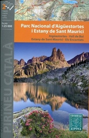 AIGUESTORTES NP – SANT MAURICI mapa 1:25 000 ALPINA