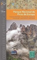 PICOS DE EUROPA NP mapa 1:40 000 ALPINA