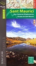 SANT MAURICI mapa 1:25 000 ALPINA