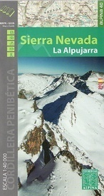SIERRA NEVADA LA ALPUJARRA mapa 1:40 000 ALPINA