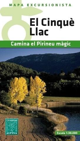 EL CINQUE LLAC mapa turystyczna 1:30 000 ALPINA EDITORIAL