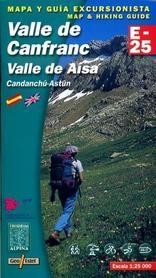 VALLE DE CANFRANC VALLE DE AISA mapa 1:25 000 ALPINA