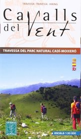 CAVALLS DEL VENT mapa turystyczna 1:30 000 ALPINA EDITORIAL