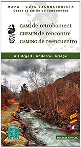 ALT URGELL - ANDORRA - ARIEGE mapa turystyczna 1:40 000 ALPINA EDITORIAL