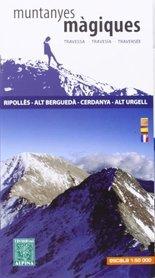 MUNTANYES MAGIQUES RIPOLLES - ALT BERGUEDA - CERDANYA - ALT URGELL mapa turystyczna 1:50 000 ALPINA EDITORIAL