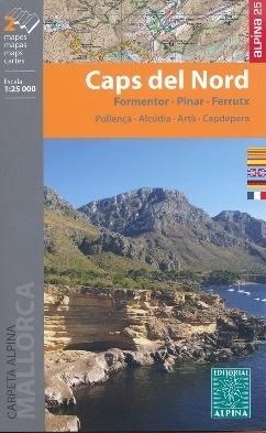 CAPS DEL NORD mapa turystyczna 1:25 000 ALPINA