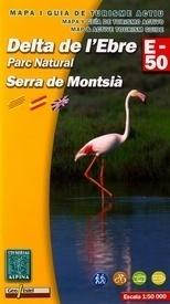DELTA D'ELEBRE NP SIERRA MONTSIA mapa 1:50 000 ALPINA