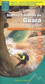SIERRA DE GUARA NP mapa 1:40 000 ALPINA