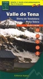 VALLE DE TENA SIERRA TENDENERA mapa 1:40 000 ALPINA