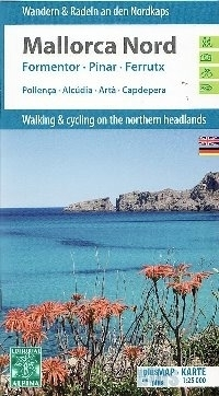MAJORKA PÓŁNOCNA Mallorca Nord Formentor - Pinar - Ferrutx mapa turystyczna i rowerowa 1:25 000 ALPINA