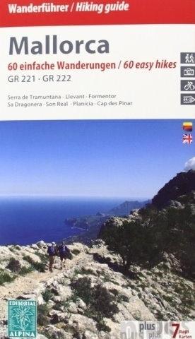 MAJORKA Mallorca GR 221 - GR 222 mapa turystyczna i rowerowa 1:50 000 ALPINA