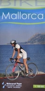MAJORKA Mallorca wodoodporna mapa rowerowa 1:100 000 ALPINA EDITORIAL