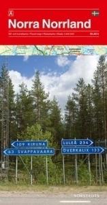 SZWECJA: LAPONIA cz. 6 mapa 1:400 000 NORSTEDTS