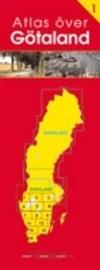 GOTLANDIA Gotaland atlas samochodowy 1:350 000 NORSTEDTS