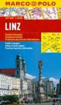 LINZ laminowany plan miasta 1:15 000 MARCO POLO