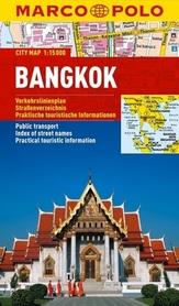 BANGKOK laminowany plan miasta 1:15 000 MARCO POLO