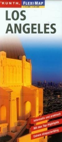 LOS ANGELES laminowany plan miasta 1:15 000 / 1:22 500 KUNTH