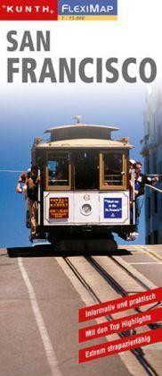 SAN FRANCISCO laminowany plan miasta 1:15 000 KUNTH
