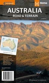 AUSTRALIA mapa samochodowa HEMA