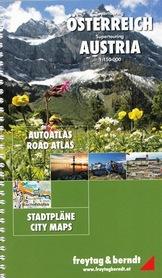 AUSTRIA atlas samochodowy 1:150 000 2014 FREYTAG & BERNDT