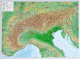 ALPY mapa plastyczna 1:1 200 000 GEORELIEF
