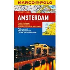 AMSTERDAM laminowany plan miasta 1:15 000 MARCO POLO