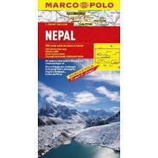 NEPAL mapa samochodowa 1: 750 000 MARCO POLO