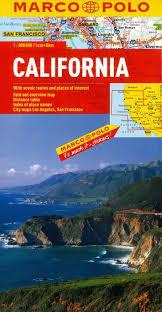 KALIFORNIA mapa samochodowa 1:800 000 MARCO POLO 2015