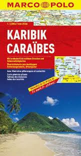 KARAIBY mapa samochodowa 1:2 500 000 MARCO POLO